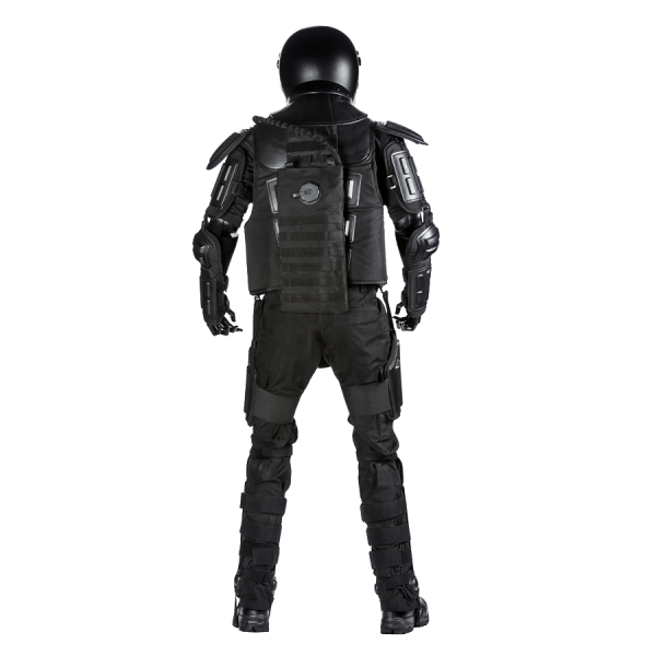 Flexible Riot Suit with Hydration Pack